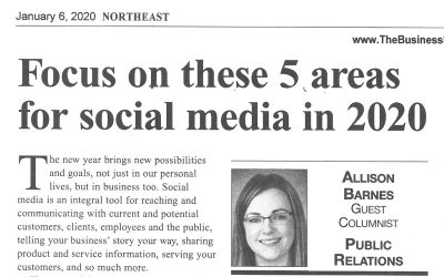 Focus on these 5 Areas for Social Media in 2020