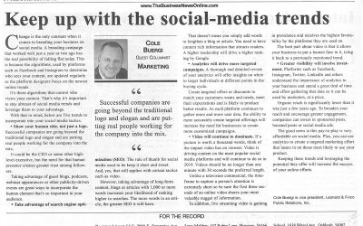 Keep up with the social media trends